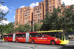 Transmilenio en Colombia