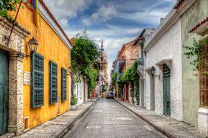 Vacaciones románticas en Colombia: Calles de Cartagena