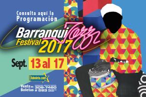 Afiche Barranquijazz 2017