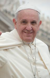 El Papa Francisco sonriente