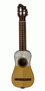 Tiple instrumento típico colombiano