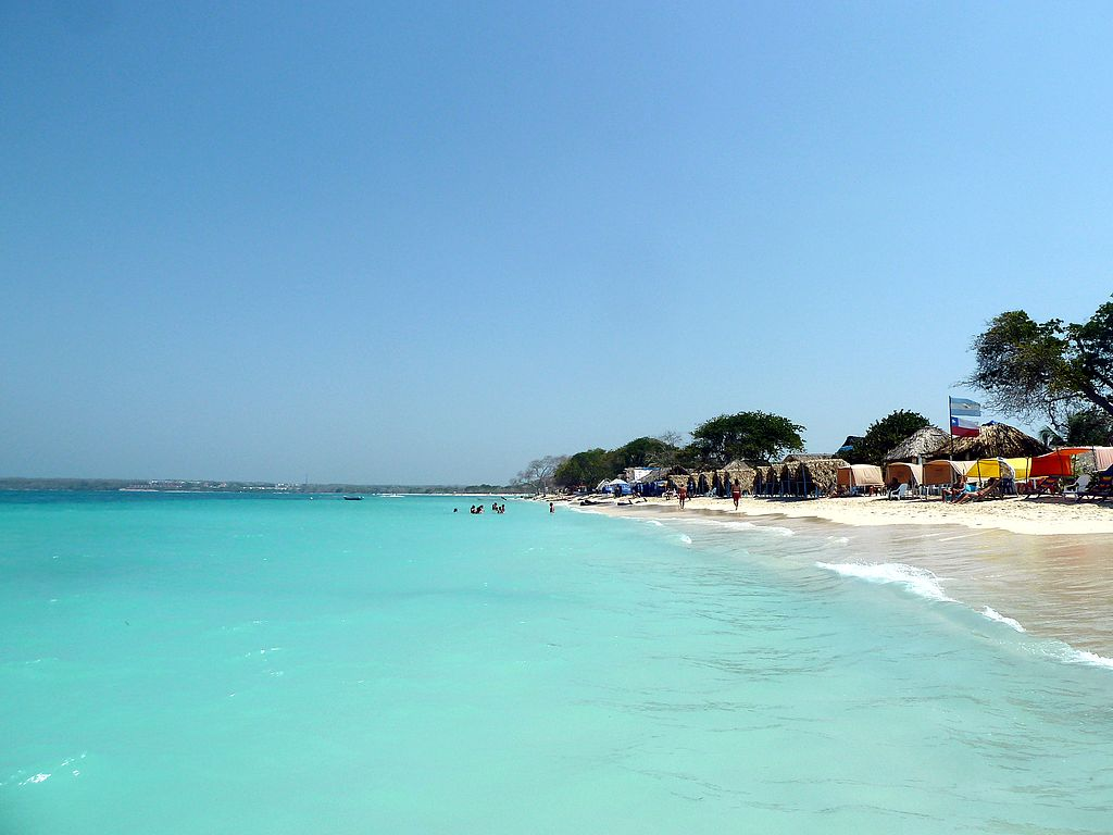 Playas de Colombia: Playa Blanca