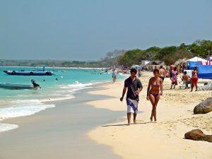 Cartagena de Indias: Playa Blanca en Isla Barú