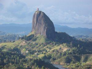 El Peñol: Vista de El Peñón de Guatapé