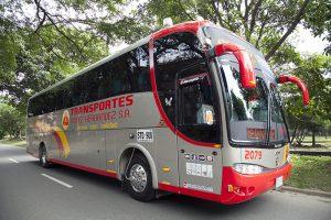 Bus de lujo Transportes Gómez Hernández
