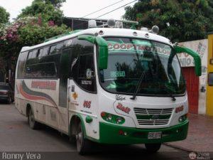 Bus de la compañía Cooptmotilon