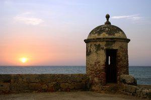 Cartagena de Indias: Atardecer en la fortaleza