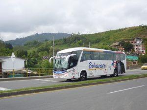 Bus de Expreso Bolivariano