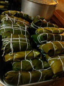 Hallacas: plato típico de Arauca