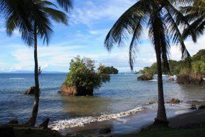 Playa de Nuquí en Chocó