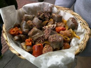 Platos típicos de Cundinamarca: la Fritanga