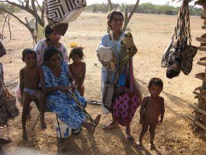 Comunidad Wayúu en el Desierto de la Guajira