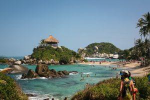 Viaje romántico por Colombia: Parque Tayrona