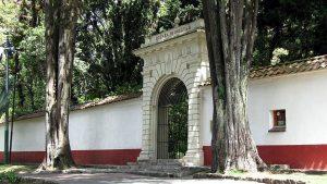 Entrada de la Quinta de Bolívar