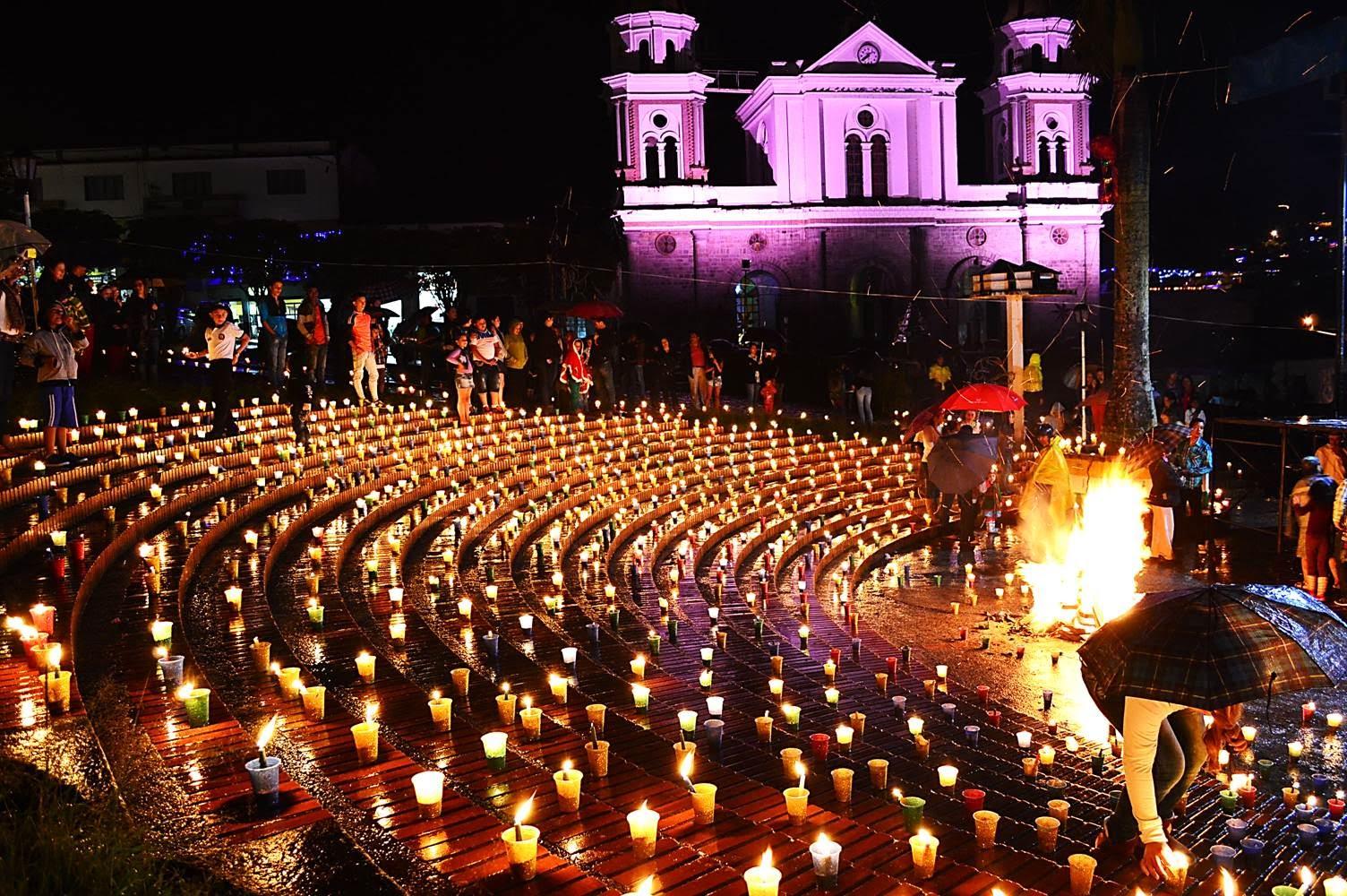 Noche de las velitas, navidad en Colombia