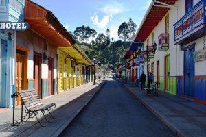 Salento, uno de los pueblos de colombia