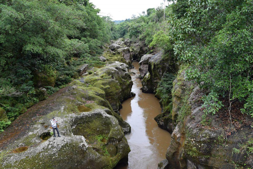 Cañón del Mandiyaco desde las alturas