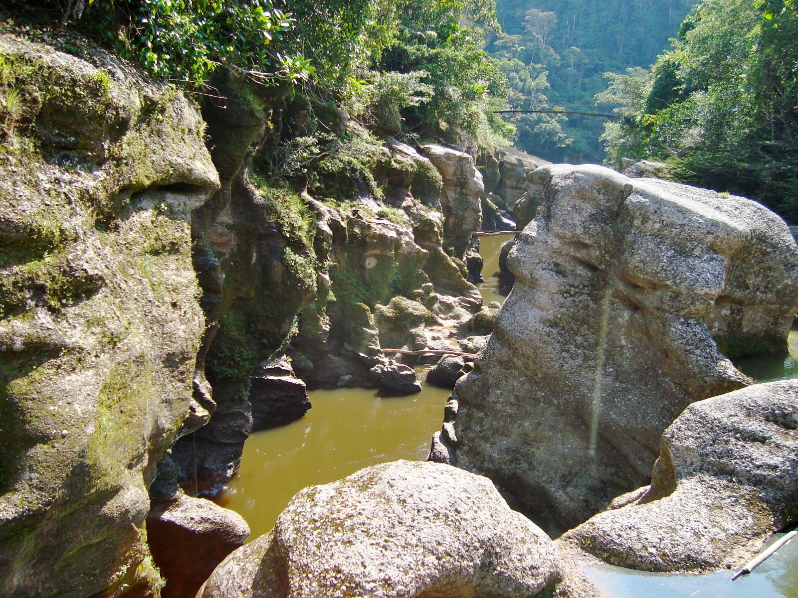 cañón del Mandiyaco