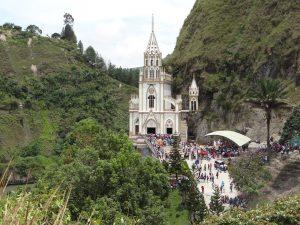 Santuario Virgen de La Playa en Nariño