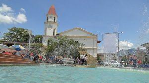 Plazoleta principal, Melgar, Tolima. Foto Commons Wikipedia