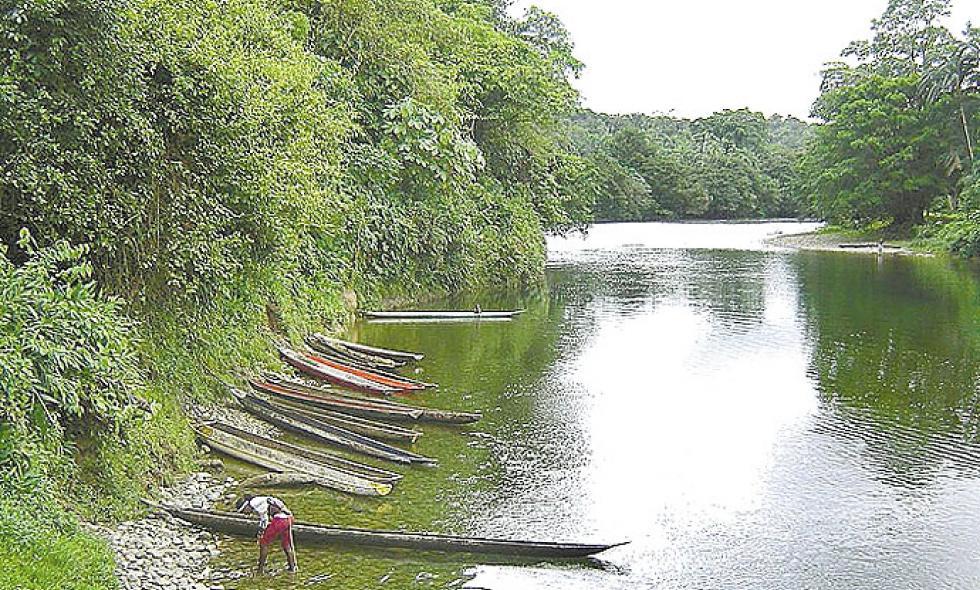 Río Sabaletas.