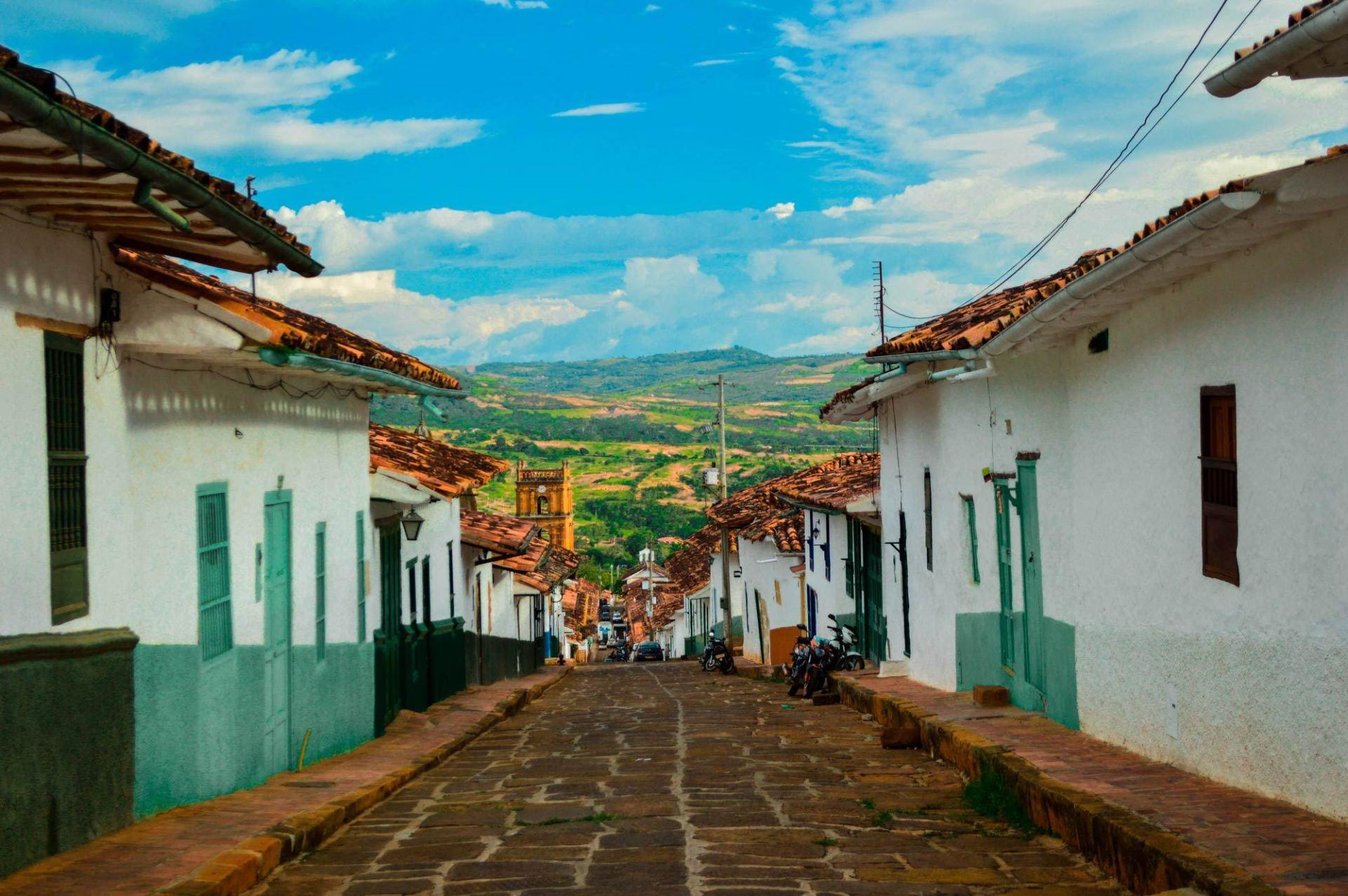 Salto del Mico. Barichara. Foto: www.beyondmyborder.com