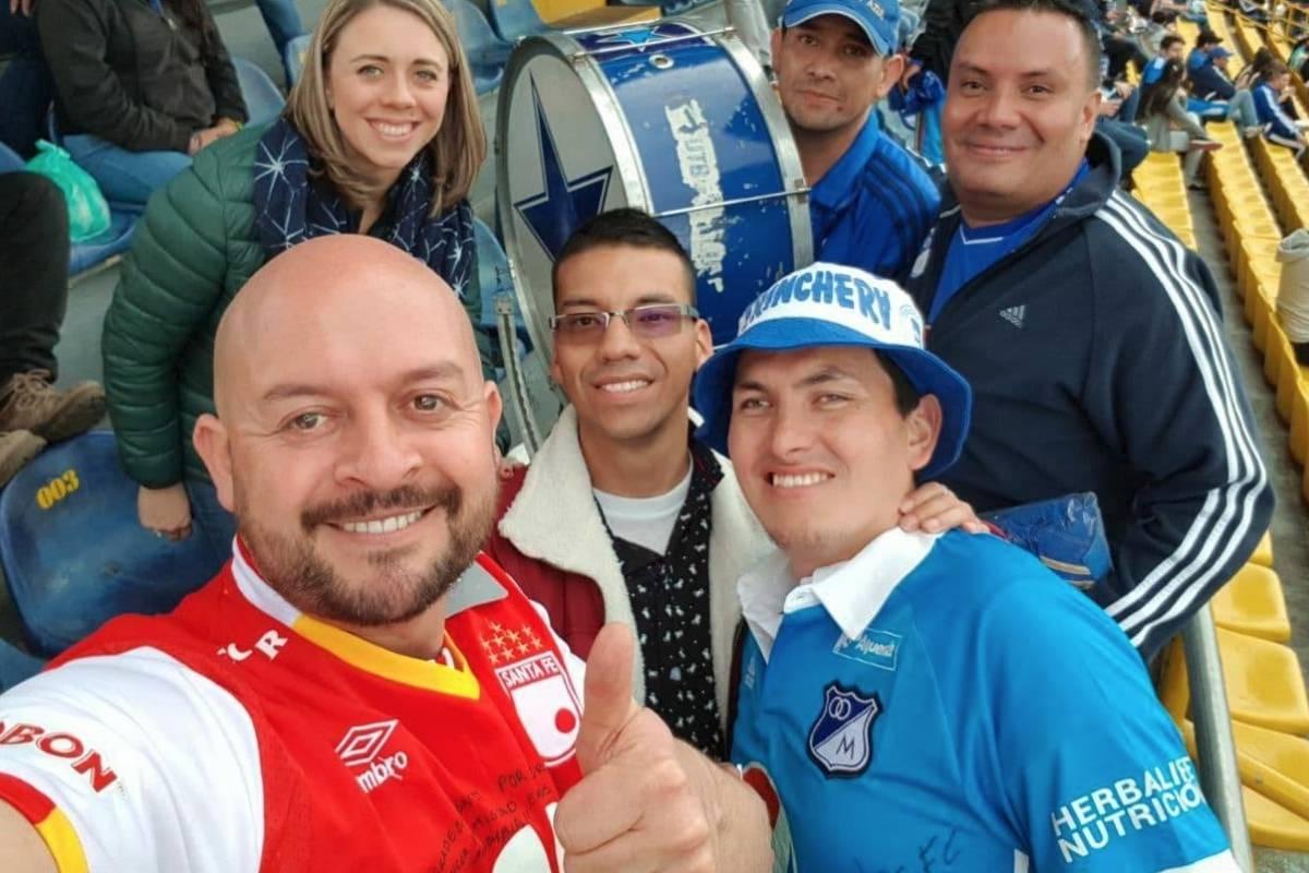 Hincha colombiano. Foto: media.metrolatam.com