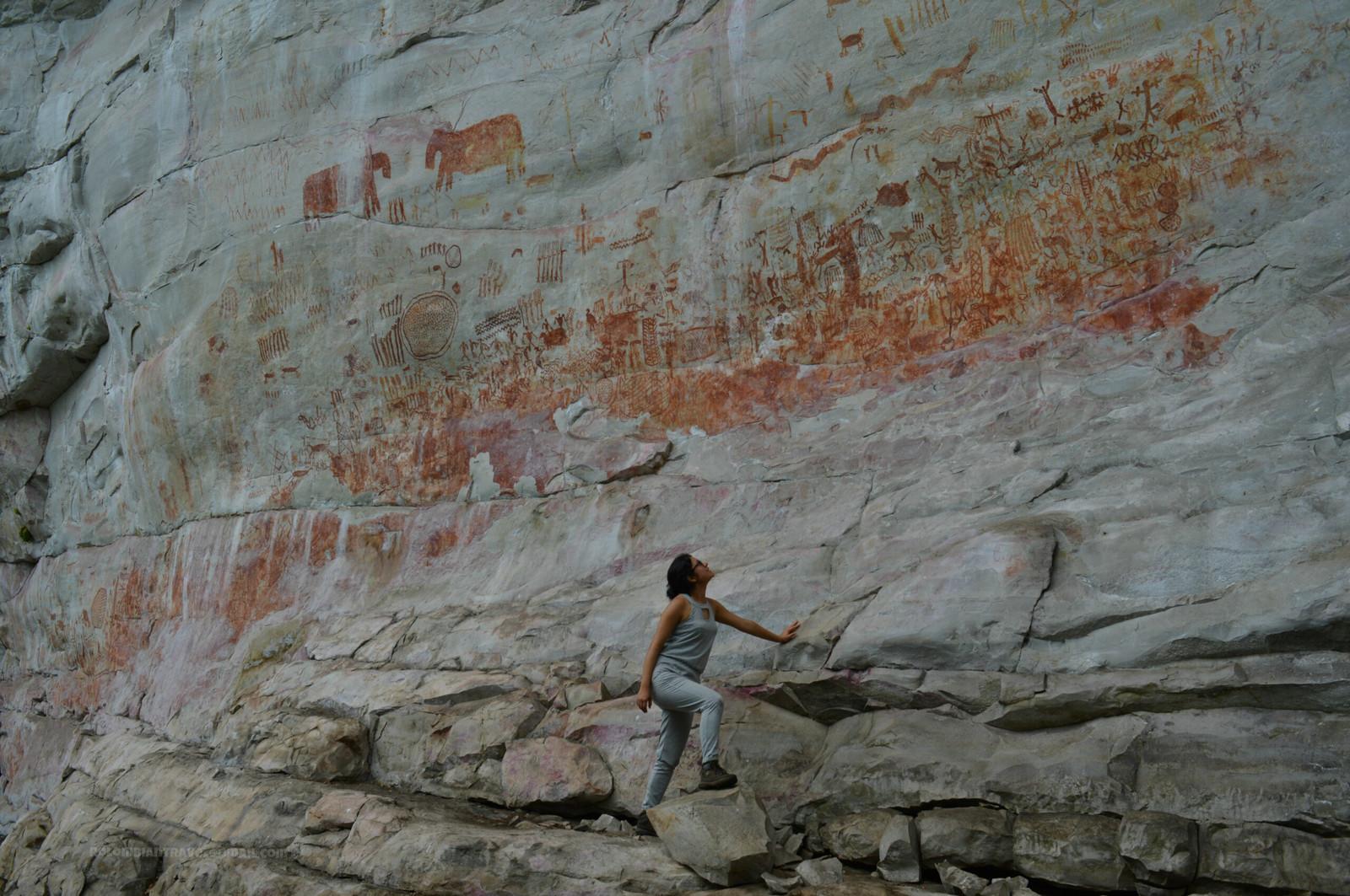 Cerro pinturas. Foto: rolombiantravel.com