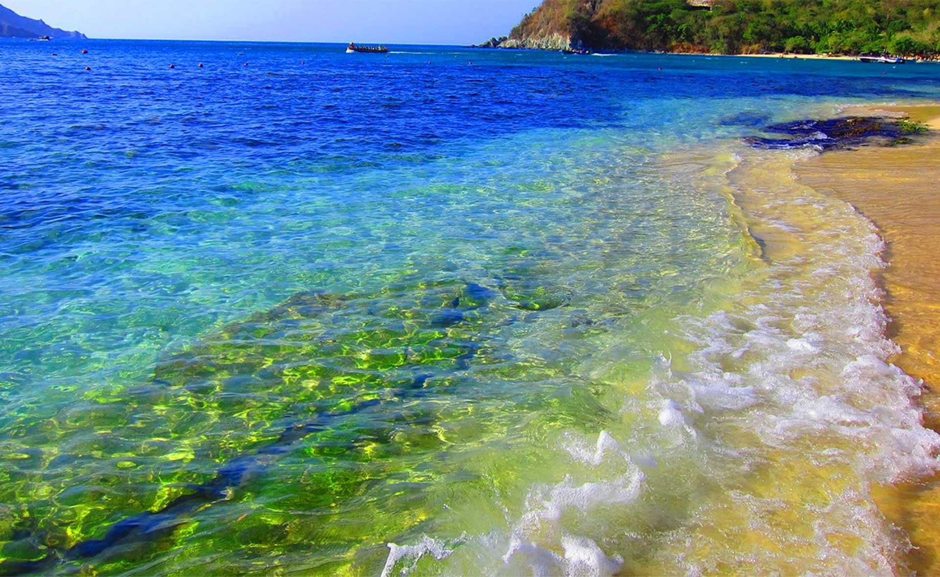 Playa Cristal. Foto: Wiwa Tour