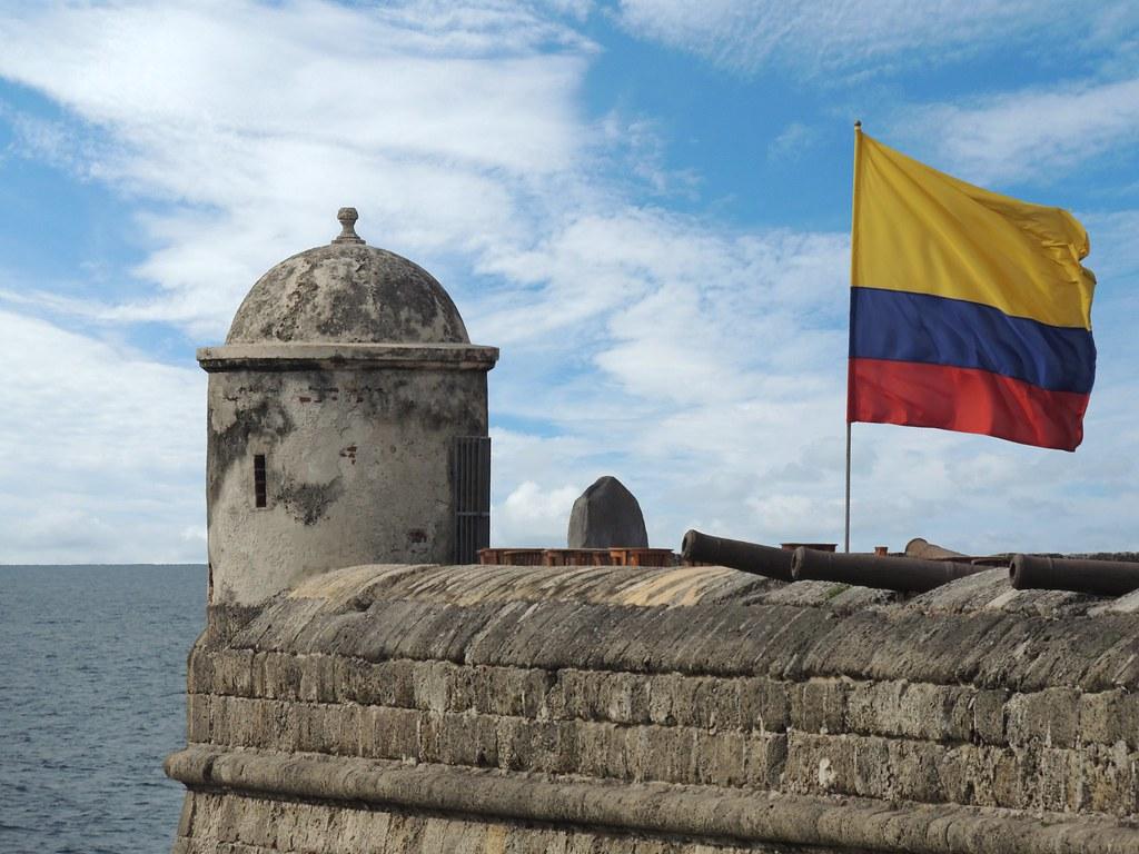 Bandera de Colombia. Foto: hiveminer.com