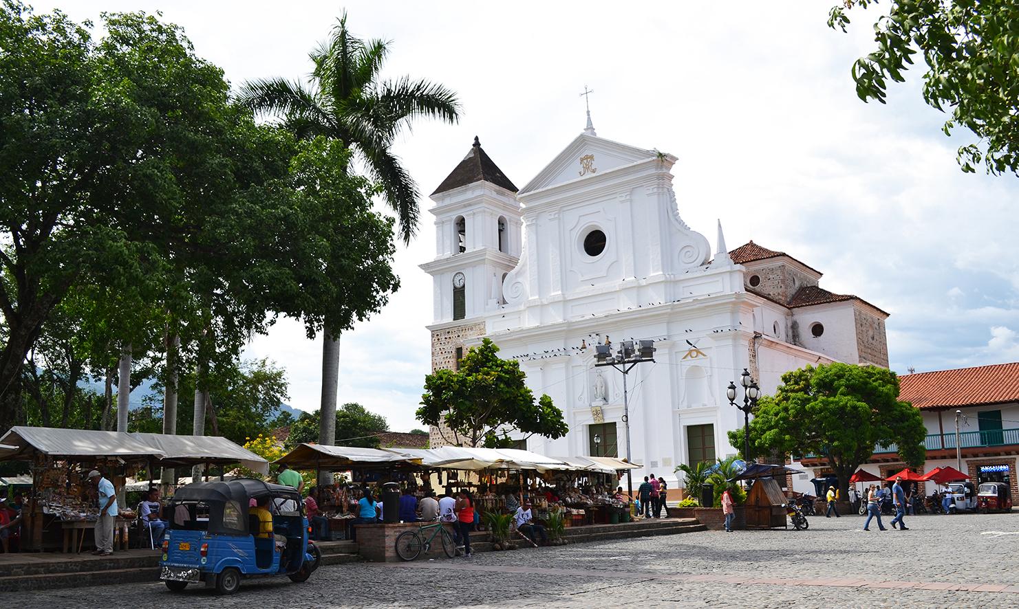 Santa Fé de Antioquia.Foto: huellasviajeras.com.co