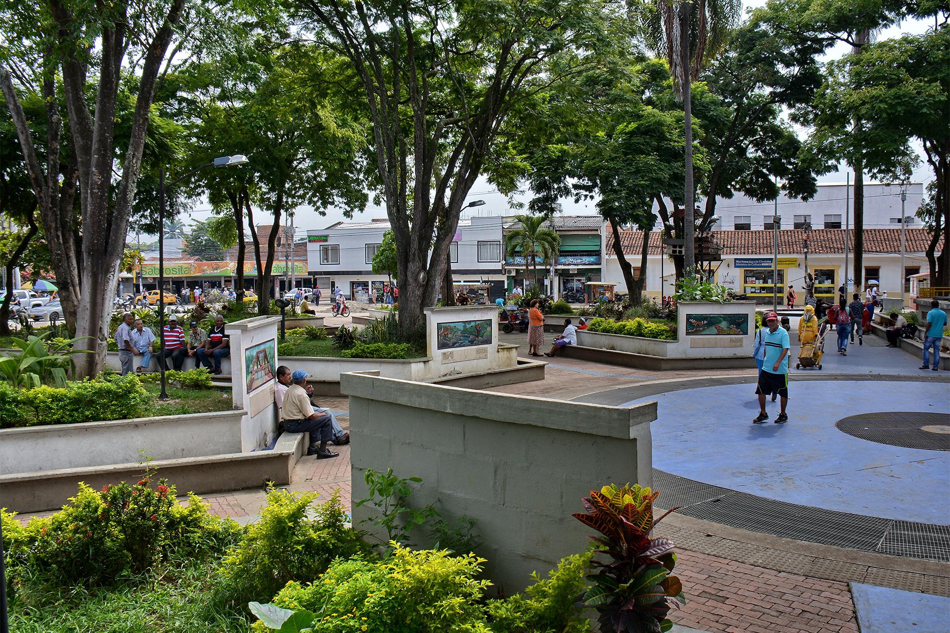 Plaza de Jamundí. Foto: metroxmetro.com