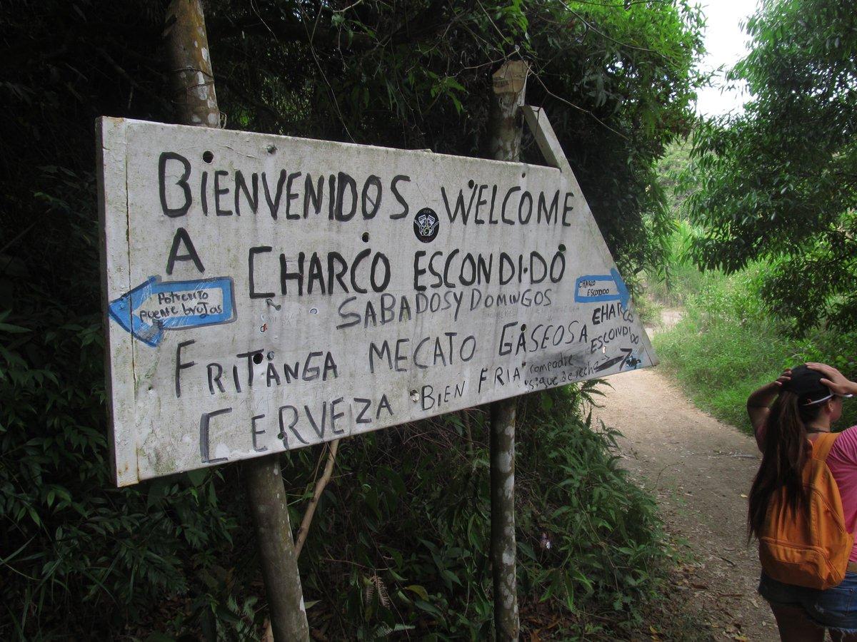 Charco escondido.Foto: Twitter