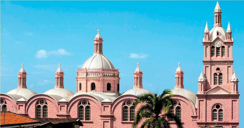 Basílica Del Señor de los Milagros de Buga.Foto: ilagrosodebuga.com