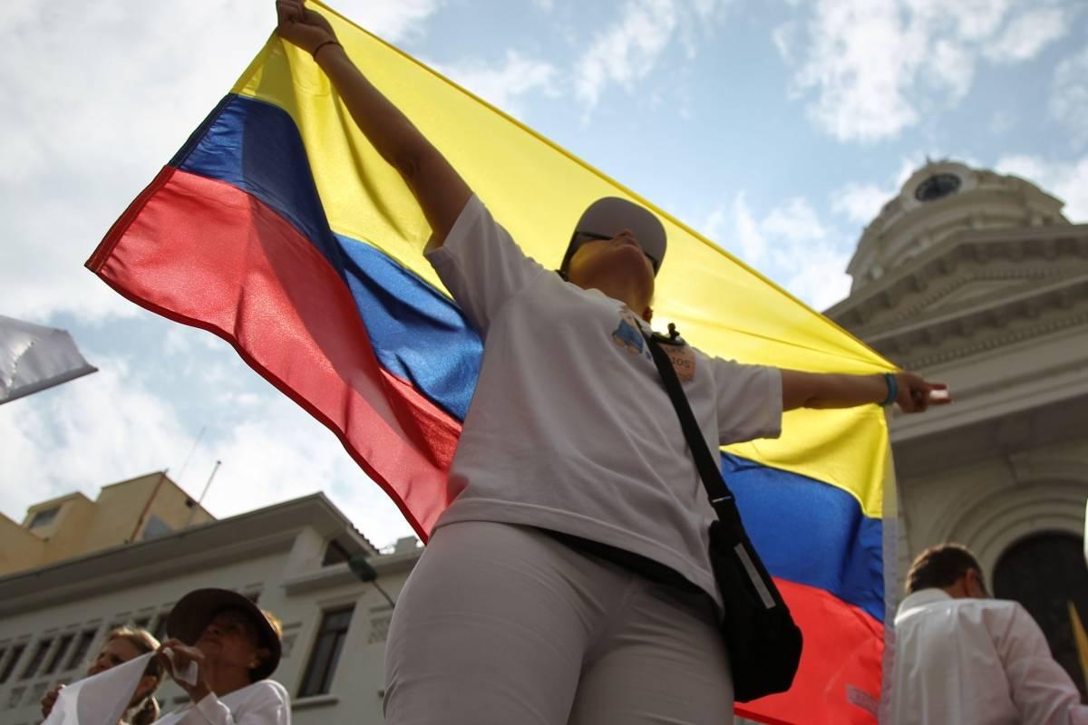 Bandera de Colombia. Foto: conocelasbanderas.com