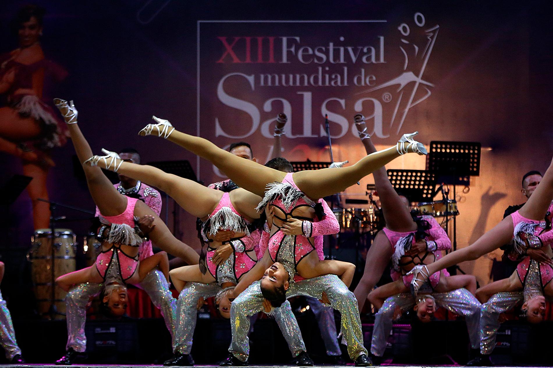 Festival Mundial de Salsa. Foto: colombiano24.com