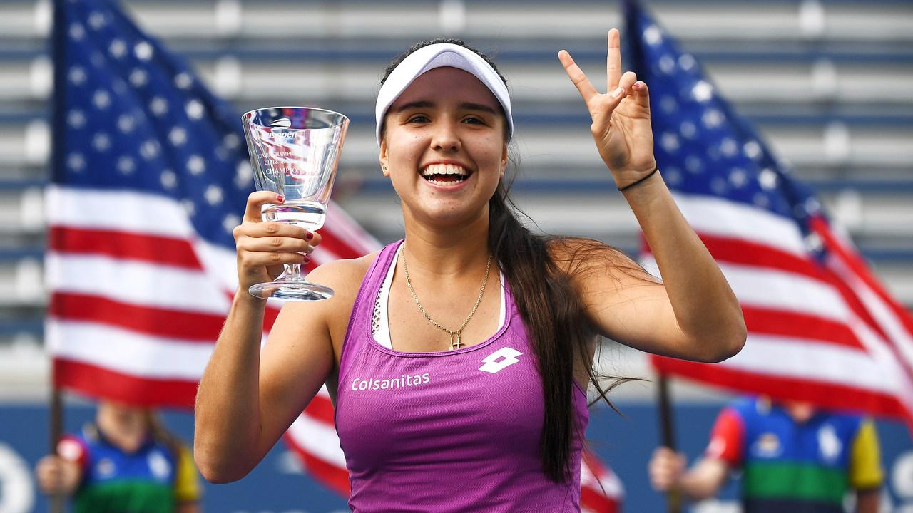 Deportistas colombianos. Maria Camila Osorio. Foto: usopen.org