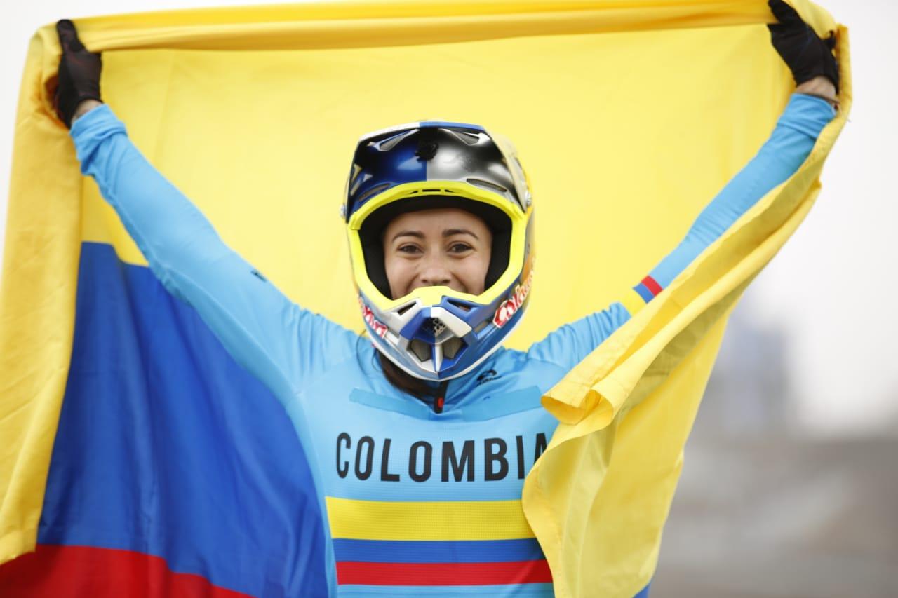 Deportistas colombianos. Mariana Pajón. Foto: habladeportes.co
