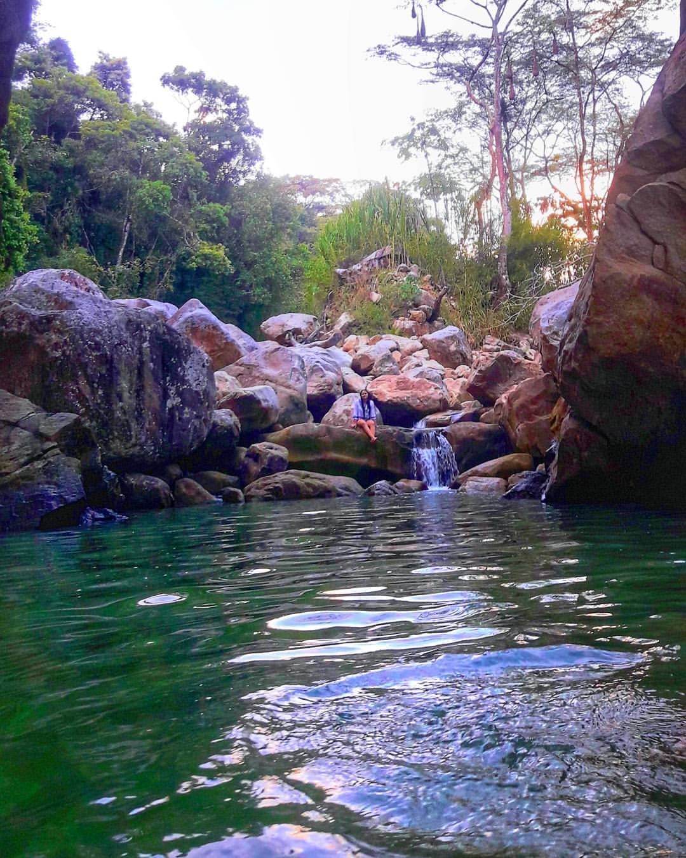 Piscina Natural La Aguatoca. Foto: @mayraarizab