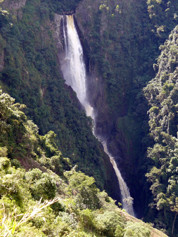 cascadas más altas de colombia