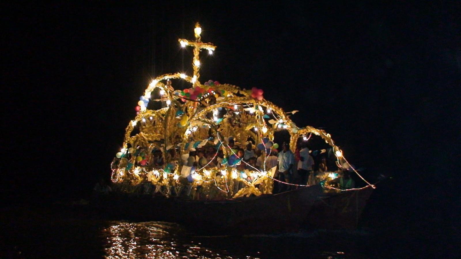 Balsadas en el río Guapi. Foto: guapiinforma.blogspot.com