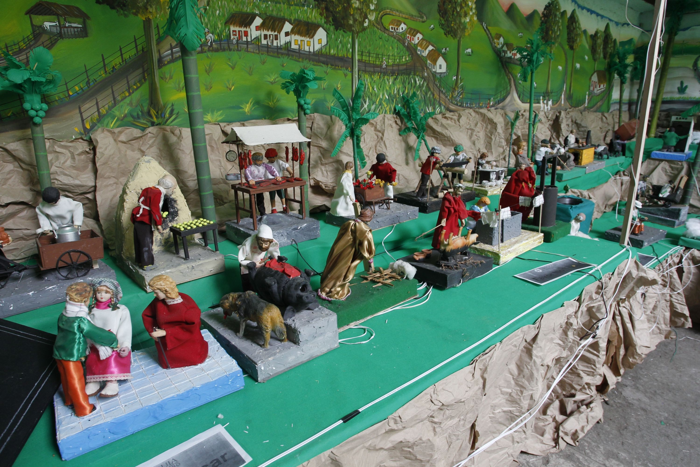 Pesebres navideños. Foto: www.eltiempo.com