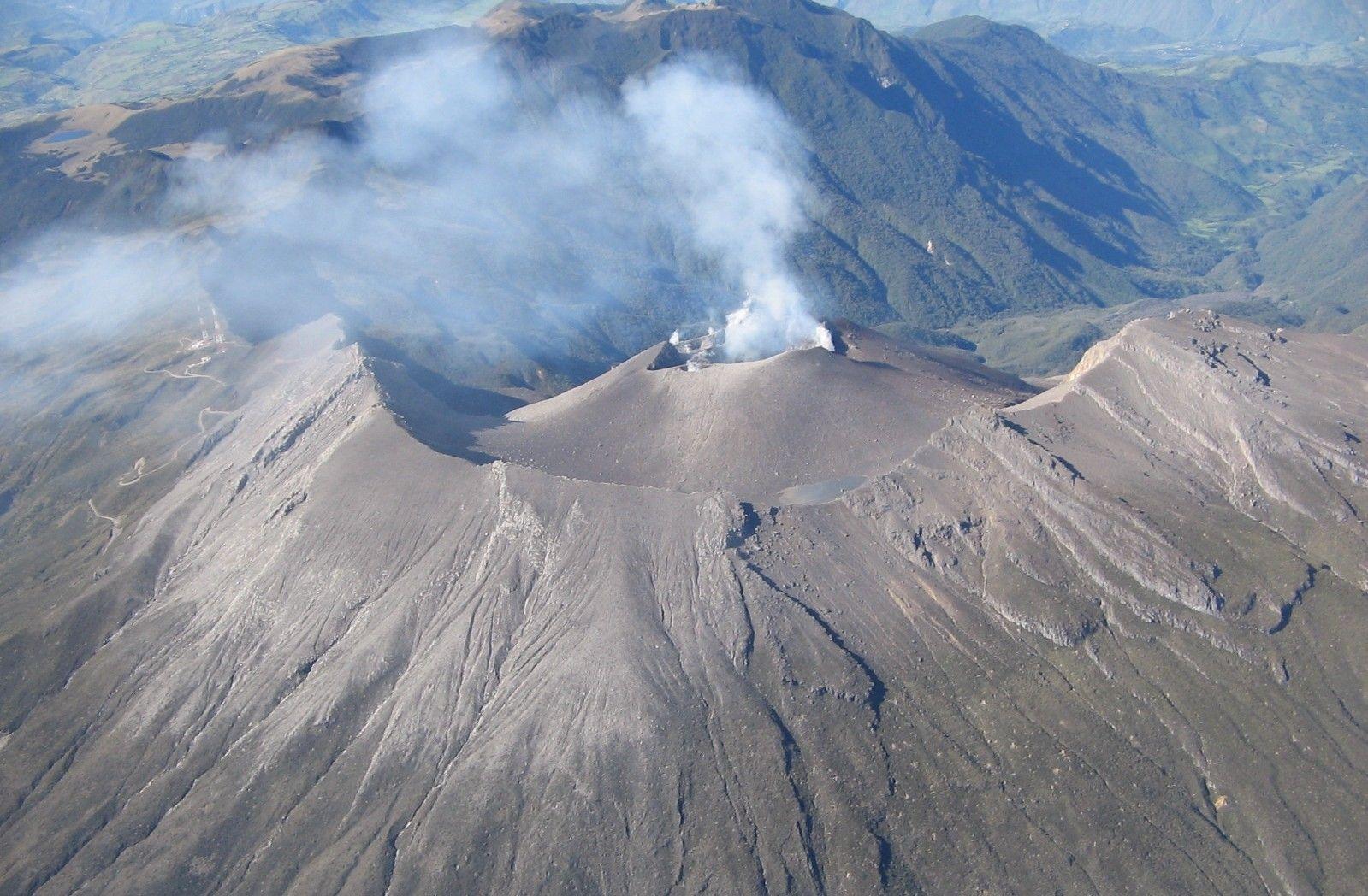 Volcán Galeras . Foto: co.pinterest.com
