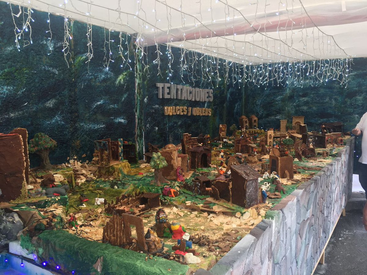 El Pesebre de dulce de Floridablanca Santander. Foto: @CaracolBga