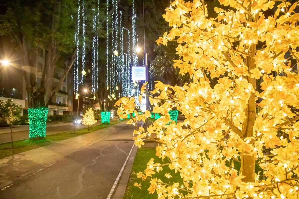 Alumbrados navideños en Colombia