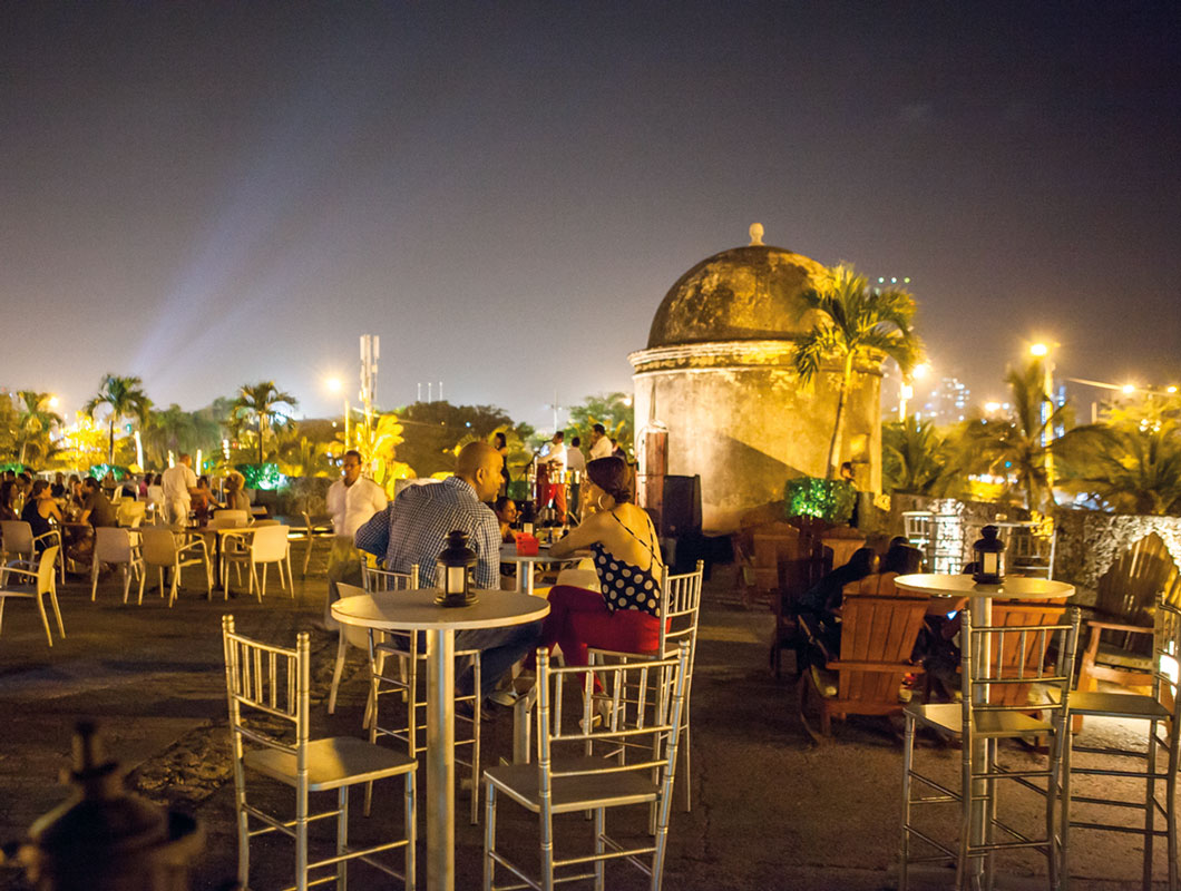 Vida nocturna en Cartagena. Foto: lurecartagena.com