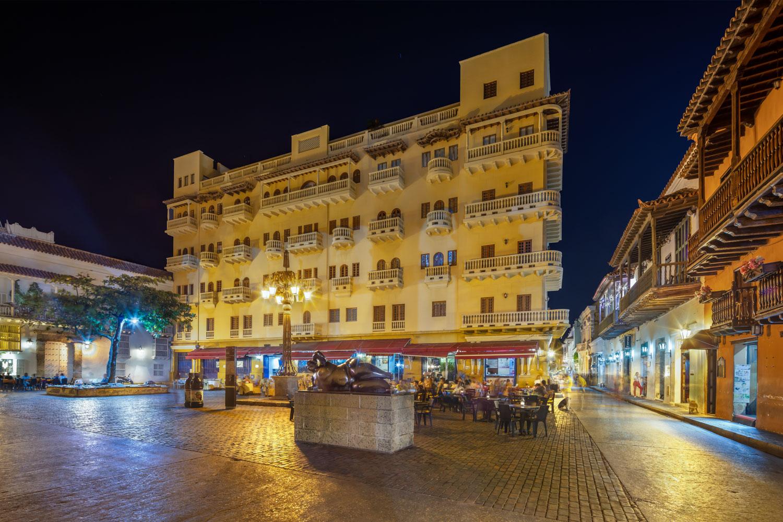 Vida nocturna en Cartagena. Foto: dmoralesr.com