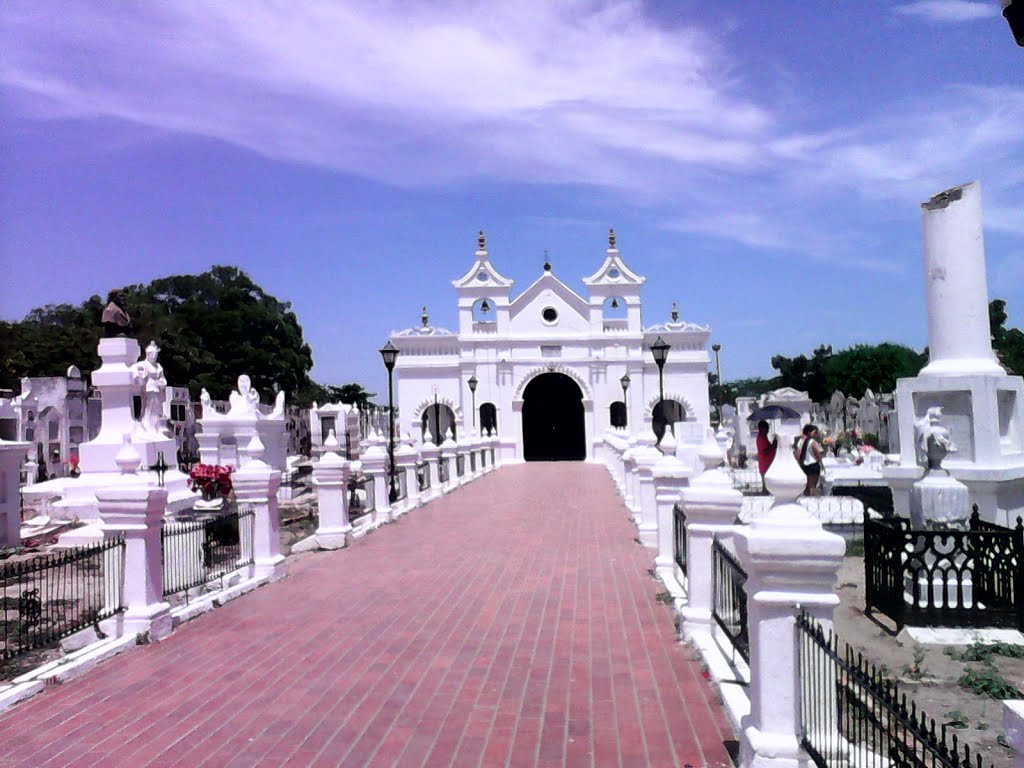 Cementerio de Mompox. Foto: mapio.net