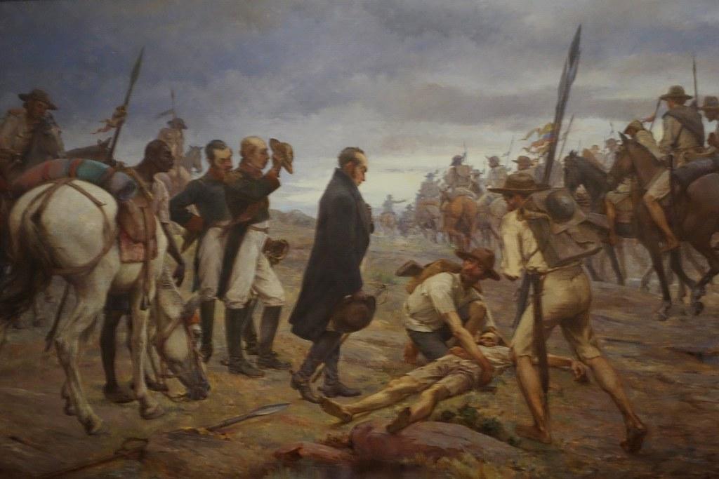 Recreación de la Batalla de Boyacá