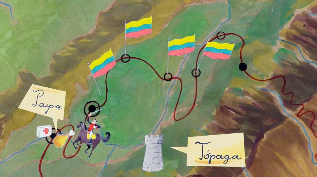 Berreiro huyendo a Paipa